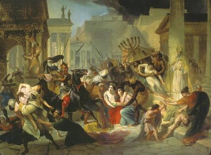 Варваризация и закат империи