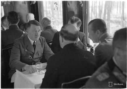 Маннергейм и Гитлер: тайная беседа летом 1942 года