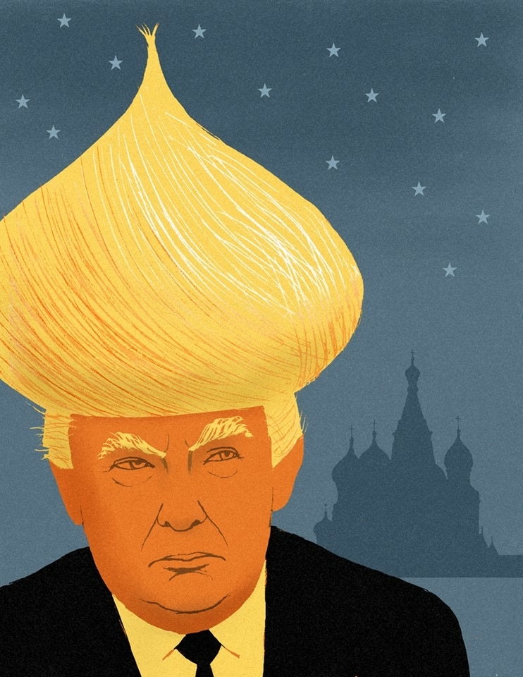 Карикатура дня: From Russia with Trump