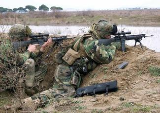 В Украине начнут выпускать американские винтовки M16