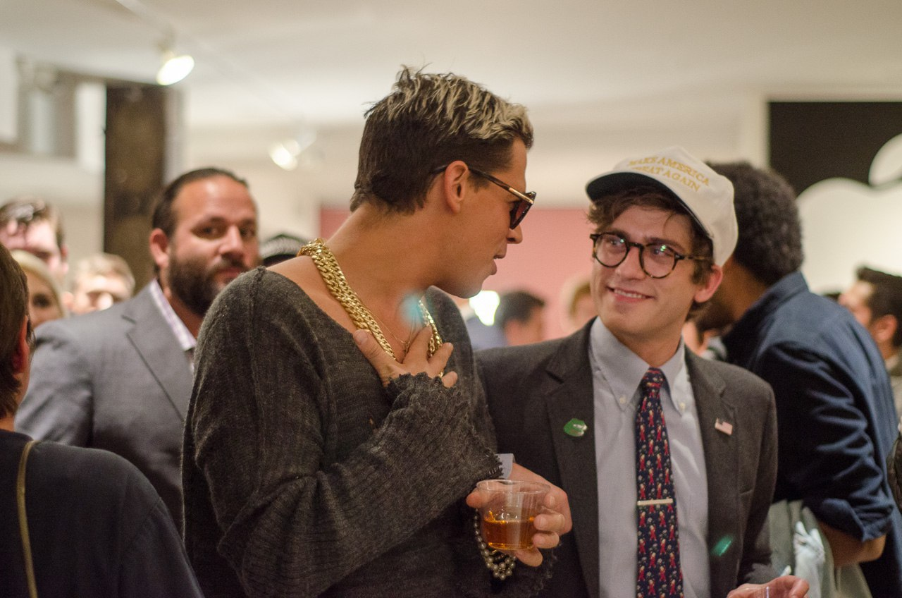 Milo Yiannopoulos and Lucian Wintrich